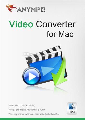 AnyMP4 Video Converter für Mac 1 Year License - Videos in 4K/HD/SD konvertieren und Videoqualität verbessern [Download] Flv Mov Converter