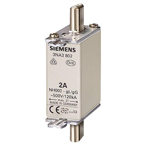 SIEMENS Ingenuity for life 3NA3810 Siemens - Sicherung nh-500 V t-00 25 A, Mehrfarbig -