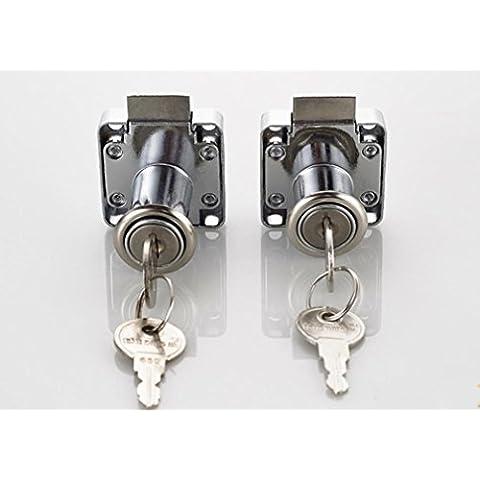 CTS/cassetto lucchetto Serrature/scrivania file blocco armadio/armadietto/mobili/armadio/armadietto lock 2