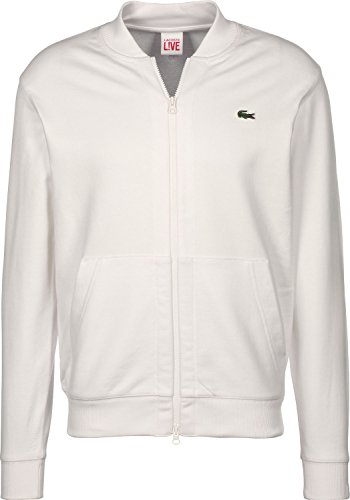 ada264557 Lacoste L!VE Collar Trainingsjacke flour – entsorga-enteco.de