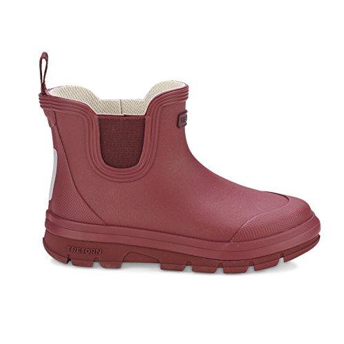 Tretorn Gummistiefel für Kinder AKTIV Chelsea - Wasserdichte Regenstiefel, Kinderstiefel Aus Naturkautschuk ohne PVC - Braun Größe - Tretorn Schuhe