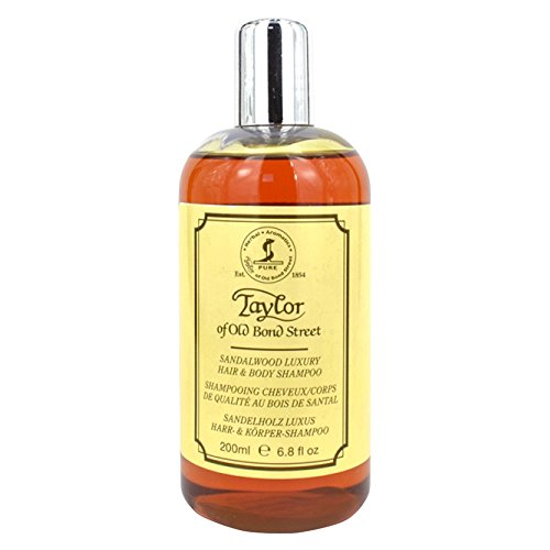 Taylor of Old Bond Street 200ml Luxury Sandalwood Hair and Body Shampoo