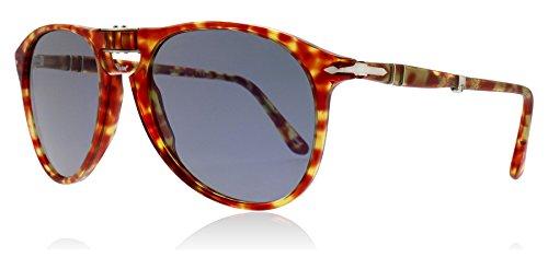 Ray-Ban Herren 0PO9714S Sonnenbrille, Rot (Tortoise Red), 55