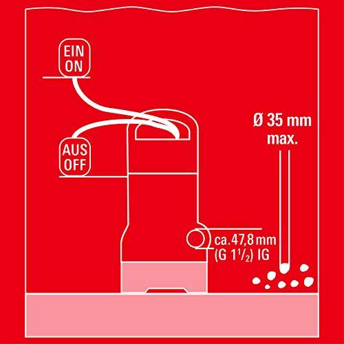 Einhell Schmutzwasserpumpe - 9