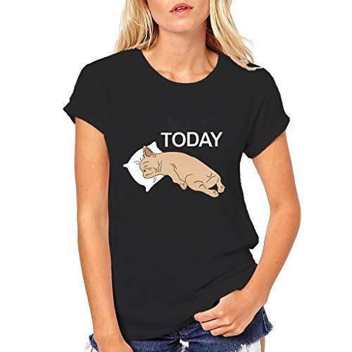 Hund Shirt Mädchen Plus Size Gedruckt Tees Shirt Kurzarm T Shirt Bluse Tops ()