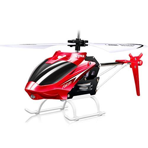 Helikopter mit Gyro-Hobby RC Radio Alloy Plane Toy Crash Resistance für Indoor Outdoor Kinder-Kids Mädchen Geschenk für Weihnachten Halloween ()