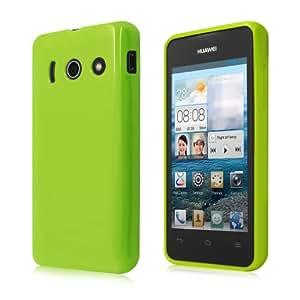 Schicke Schutzhülle für Huawei Ascend Y300 - Ultra Slim in Opak Grün von PrimaCase