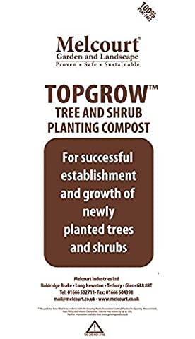 Melcourt Topgrow, tree and shrub planting compost, 70 Litres
