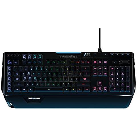 Logitech G910 Orion Spectrum - Teclado mecánico RGB para gaming, QWERTY