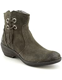 64381cf79960 Bare Traps Womens Sasha Suede Round Toe Ankle Fashion Boots