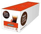 NESCAFÉ Dolce Gusto Lungo Decaffeinato | 48 Kaffeekapseln | Entkoffeiniert | 100%  Arabica Bohnen aus Südamerika | Feine Crema | Aromaversiegelte Kapseln | 3er Pack (3 x 16 Kapseln)