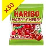 Colis de 30 paquets de Haribo Happy Cherry 100g