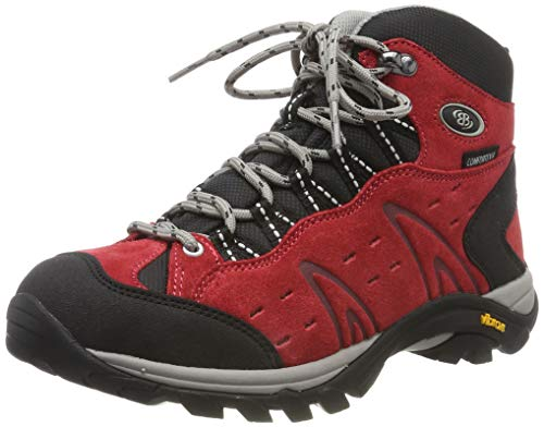 Bruetting MOUNT BONA HIGH, Damen Trekking- & Wanderstiefel, Rot (ROT), 41 EU (8 Damen UK)