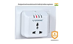 Storme Timer Socket - Automatic Power Cut off socket