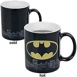 GB eye LTD, DC Comics, Batman Logo, Taza Mágica cambiante de color