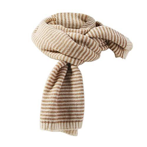 Oliviavan Damen Schal Winterschal Valentinstag Schal Frau Plaid farblich passenden Schal Langen Abschnitt warm gestrickt Wilder Schal Lätzchen doppelten Zweck 200cm