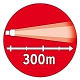 Brennenstuhl Taschenlampe LED LuxPremium / Taschenleuchte mit CREE-LED, hohe Reichweite (700 lm, 300m, umfangreiche Licht-Funktionen) Farbe: schwarz - 3