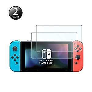 Panzerglas schutzfolie für Nintendo Switch 2017 Stoßfest Kratzfest Folie