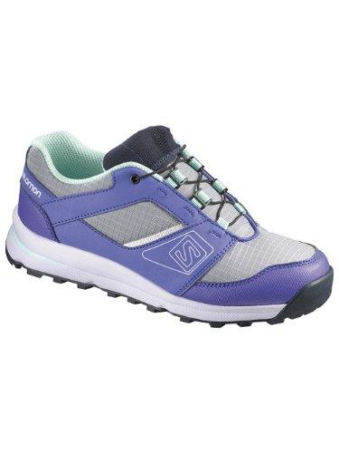 Salomon Sneakers enfants Outban Sneakers garçon light onix/light spectrum/igloo blue