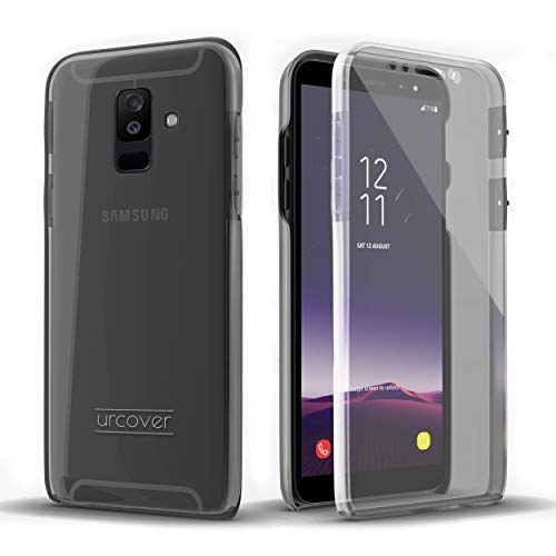 Urcover Touch Case 2.0 kompatibel mit Samsung Galaxy A6 2018 Hülle I Original berühmt durch Galileo I Hard-Edition I QI-fähig I Rundum 360° Schutzhülle I Crystal Clear Case in Transparent (Samsung 2 Handy Case Für)