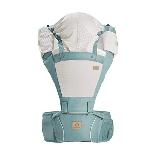 MLX Porte-bébé Sling Pour Nouveau-né - Porte-bébé Pré-dos Et Dos À Nouer, Ajustable Et Respirant Ergonomique Allaitement Vert Porte-bébé Porte-bébé