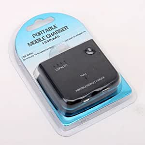 1500mAh Sans Fil Chargeur portable Molile USB Power bank pour SAMSUNG Galaxy i9100 i9300 HTC One  Blackberry Touch 9800 9700