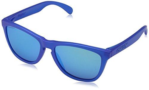 Oakley Herren Frogskins 9013c7 Sonnenbrille, Blau (X-Ray Bluette/Prizmsapphire), 55