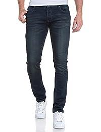 Deeluxe 74 - Jean bleu délavé jogg jean fashion