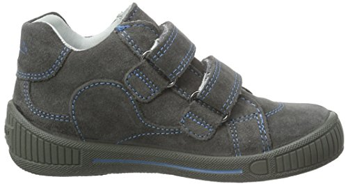 Superfit COOLY 700045, Baby Jungen Lauflernschuhe, Blau (NIAGARA KOMBI 94) Grau (STONE KOMBI 06)