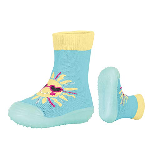 Sterntaler Mädchen Adventure-Socks Sonne Aqua Schuhe, Blau (Meeresblau 309), 30 EU -
