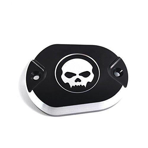 Bremszylinderabdeckung Skull black für Harley Davidson Sportster XL und Iron Modelle (Harley-davidson-namen)