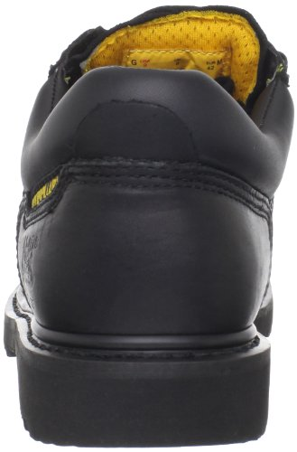 Caterpillar Mens Ridgemont Steel Toe Work Shoe Black