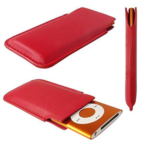 caseroxx Etui für Apple iPod Nano 4G/5G, Tasche (Etui in rot) Apple Ipod Nano 4g