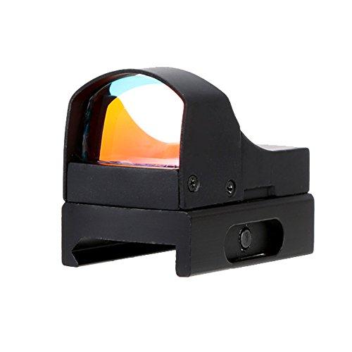 Lixada Einstellbare Helligkeit Rot Punkt Visie Leuchtpunkt Visier Zielvisier Taktisch Zielfernrohr Jagd Optik Reflex-Objektiv