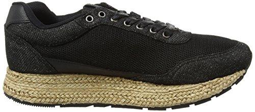 Gioseppo Avola, Baskets Basses Femme Noir