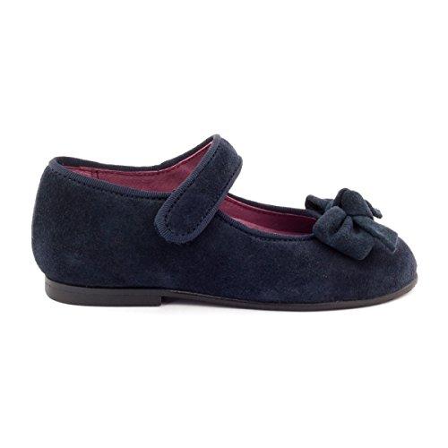 Menina Marinha Bônus Bailarinas Sapatos Clássicos 1En4B