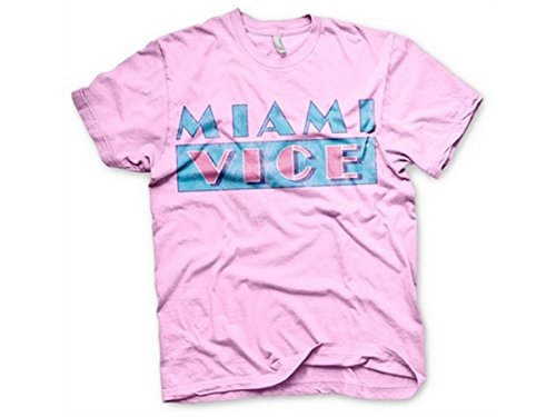 Miami Vice Distressed Logo T-Shirt