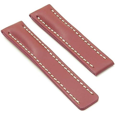 DASSARI Capital óxido suave piel banda de reloj para Breitling 20/1820mm