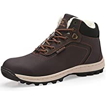 AX BOXING Hombre Botines Zapatos Botas Nieve Invierno Botas Impermeables Fur Forro Aire Libre Boots