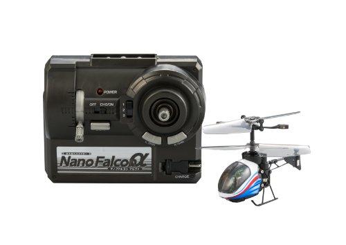 Hélicoptère infrarouge NANO-FALCON? nano Falcon alpha Blue Metallic