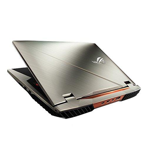 """ASUS ROG G703VI 2.8GHz i7-7700HQ 17.3"""" Metallico Computer portatile, Grigio"""