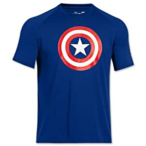 Under Armour Captain America Compression Tshirt (Large)