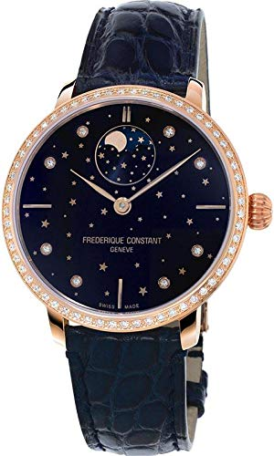 Frederique Constant Geneve Slimline Moonphase Manufacture FC-701NSD3SD4 Orologio automatico donna