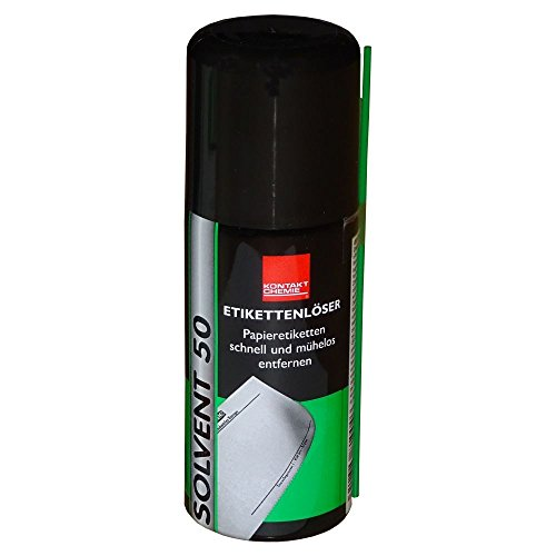 SOLVENT 50 - Etikettenlöser / Etikettenentferner - 100 ml