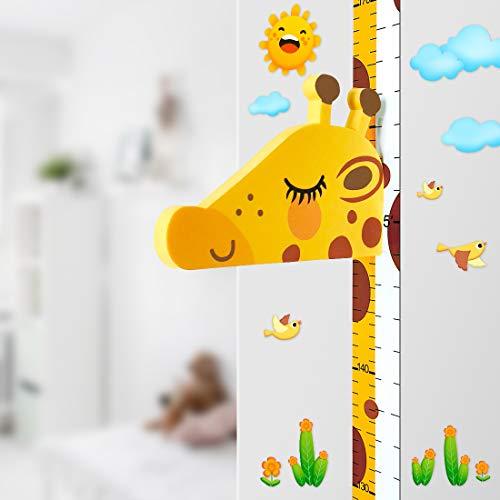 DUOUPA Gráfico de crecimiento Jirafa 3D