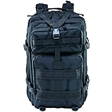 Gharpbik Mochilas tácticas 45L, Bolsas Impermeables Oxford 600D Mochilas tácticas de Trekking Mochila de Viaje