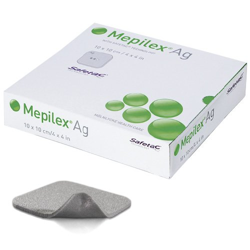 molnlycke mepilex AG Pflaster Hydro Zell 10 x 10 cm Pack 5