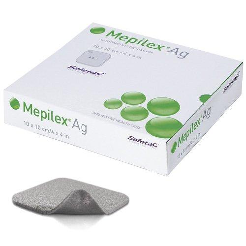 molnlycke mepilex AG Pflaster Hydro Zell 10x 10cm Pack 5
