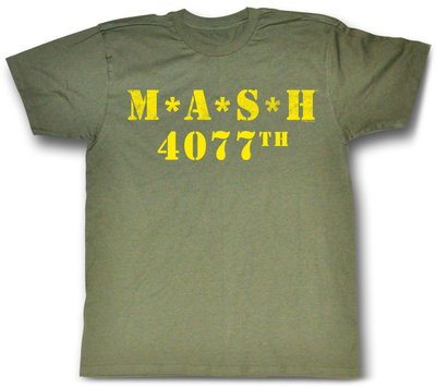 mash-logo-4077th-verde-militar-camiseta-tee