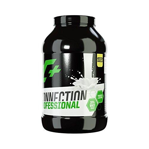 ZEC+ Whey Connection Professional – Proteinpulver aus Whey Konzentrat & Whey Protein für Muskelaufbau, Protein Shake mit Eiweißpulver & Aminosäuren (BCAAs), Geschmack Vanille 2500 g